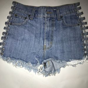 Carmar Shorts With side cut out